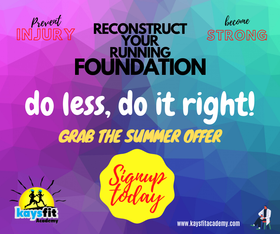 Reconstruct the running foundation (1)